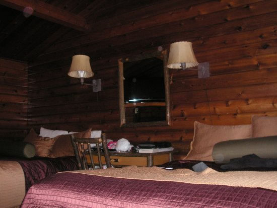 Antler Inn: Room with Logs