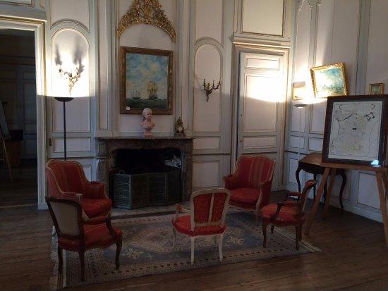 Demeure de Corsaire : Un salon de l'hôtel Magon