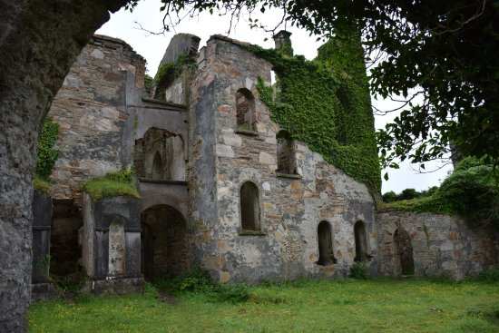 Clifden Castle: the rear