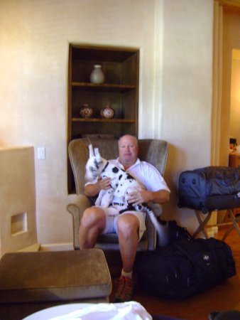 Rosewood Inn of the Anasazi: Dog friendly....and cozy rooms!