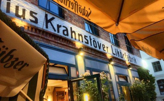 Cafe Likorfabrik: Vorher / Nachher 😂