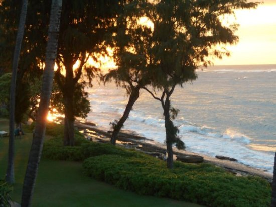 Kauai Coast Resort at the Beachboy: Dawn from the lanai