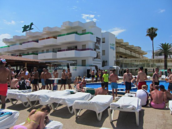 Jet Pool Party Picture Of Ibiza Jet Apartments Playa D