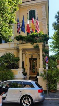 Hotel Farnese: Eingangsbereich