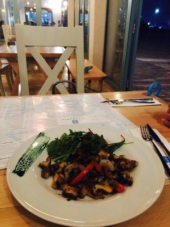 Good food in a nice setting