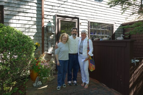 East Orleans, MA: Cindy, John and Fran