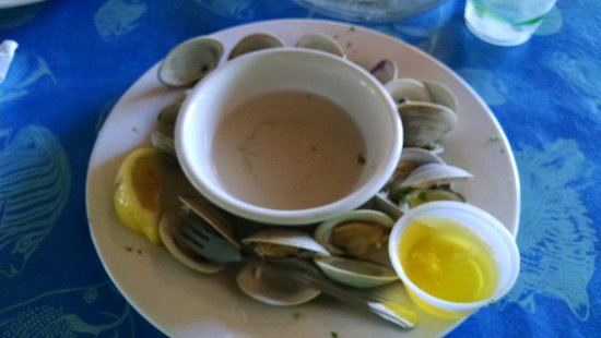 how to clean clams of sand