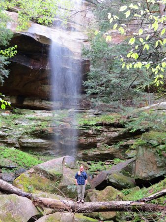 Trek Network: A picture of Trevor from our hike!