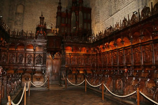 Saint-Bertrand-de-Comminges, Francia: Interior del concilio