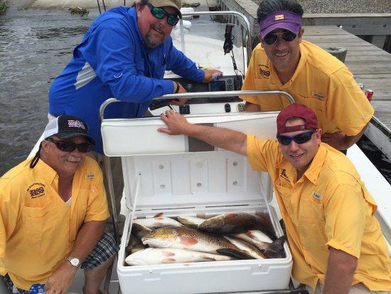 Barataria, LA: Bourgeois Fishing Charters