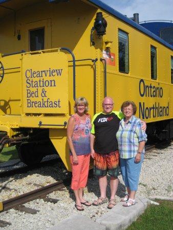 Creemore, Kanada: front of train