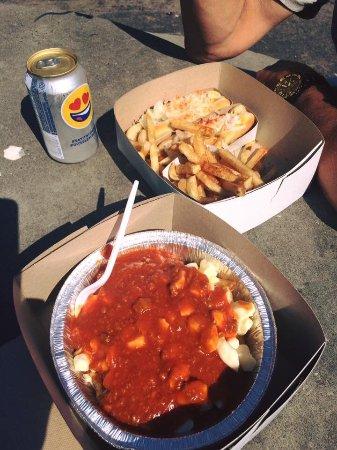 Italian poutine, steamies & fries