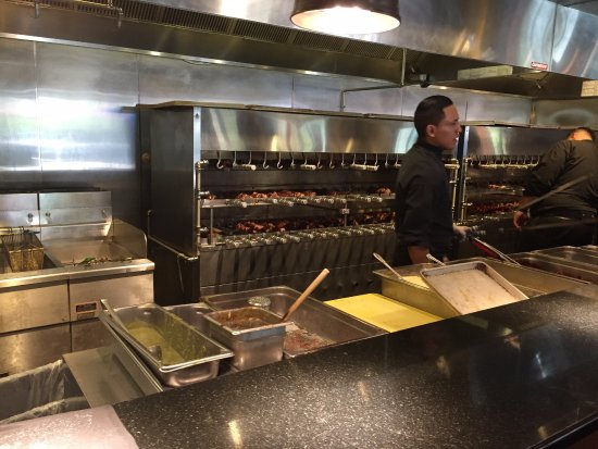 Rodizio Grill - Voorhees: Cooking Area