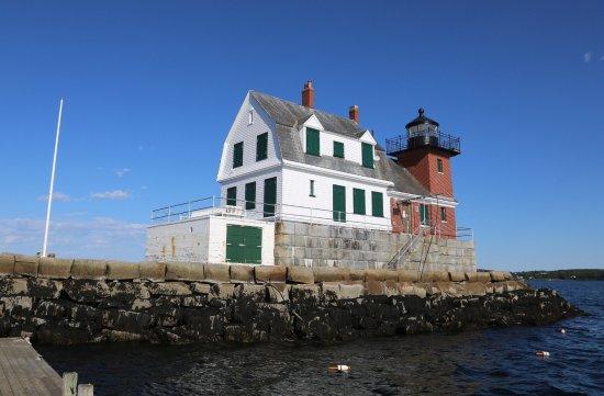 Rockland Breakwater Light: Breakwater lighthouse Rockland