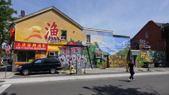 Kensington Market and Spadina Avenue