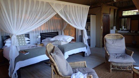 Ghoha Hills Savuti: Typical room at Goha Hills
