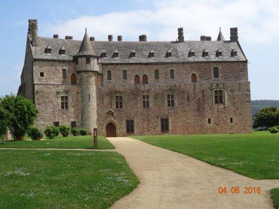 Château de la Roche-Jagu : chateau