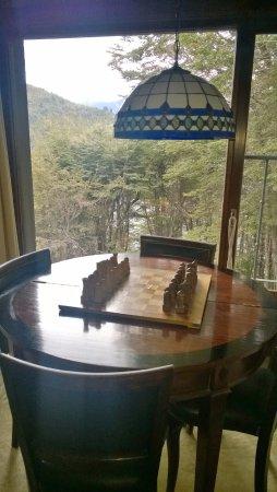Aldebaran Hotel & Spa: Ajedrez con vista al lago...