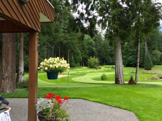 Cultus Lake, Canada: The course