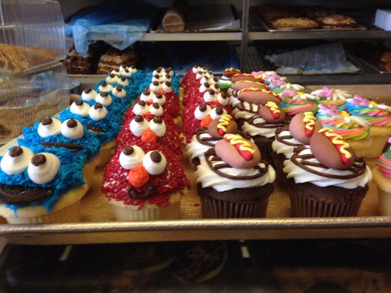 Teaneck, NJ: Butterflake cupcakes are always popular with children (and adults)