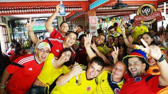 Medellin beer company.