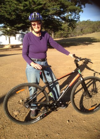 Triabunna, Australien: Bike for hire from NP office