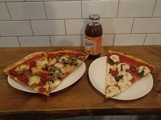 Photo of Italian Restaurant Pizza Booth at 165 Bleecker St, New York, NY 10012, United States