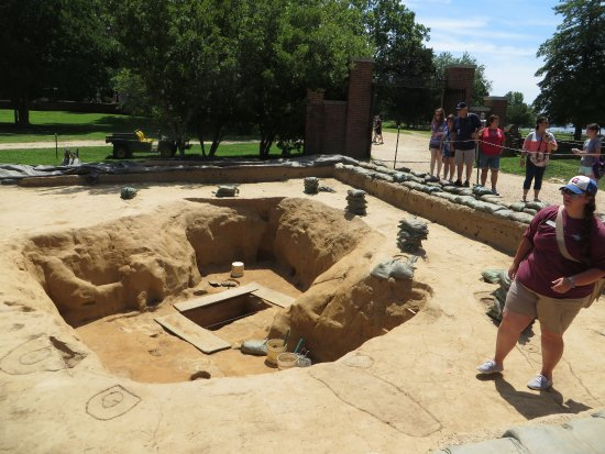 Historic Jamestowne: Decoding the soil stains at the current dig site.