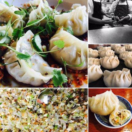 DUO Dining Room Bar Vegetarian Dumplings