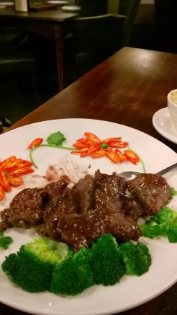 China City  - Russell Square : Carne apimentada