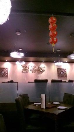 China City  - Russell Square : Interior do restaurante