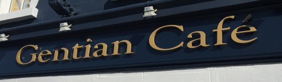 Kinvara, Ireland: Newly refurbished Gentian Cafe.....June 2016