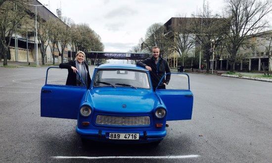 Art of Your Travel - Tours: Salvador, Martina's blue 1979 Trabant