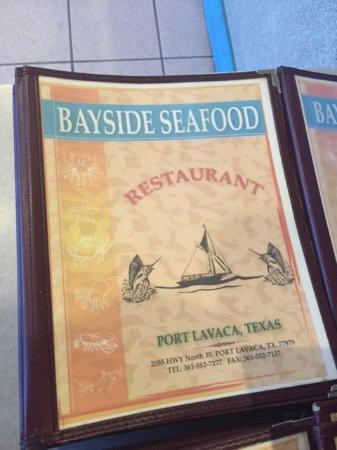 Port Lavaca, TX: Bayside seafood
