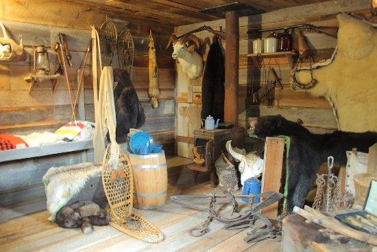 Errington, Canada : 狩猟小屋の再現