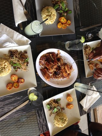 Hopi Bon Grill: Wahoo fish