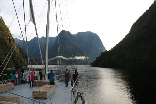 Manapouri, Nueva Zelanda: moment of silence on doubtful sound