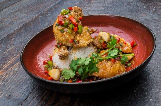 Canterbury, Australia: Chilli chicken