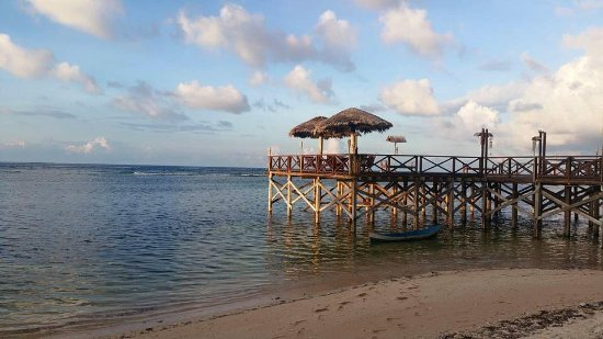 Patuno Resort Wakatobi: A jetty in front of the Hotel Dining Room