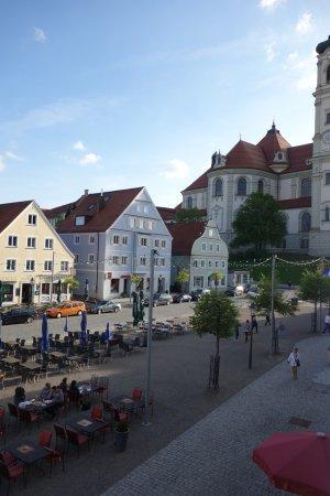Hotel Hirsch: Ausblick