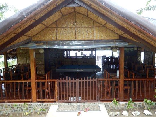 Villa de Pico Beach Resort: Resto enterance