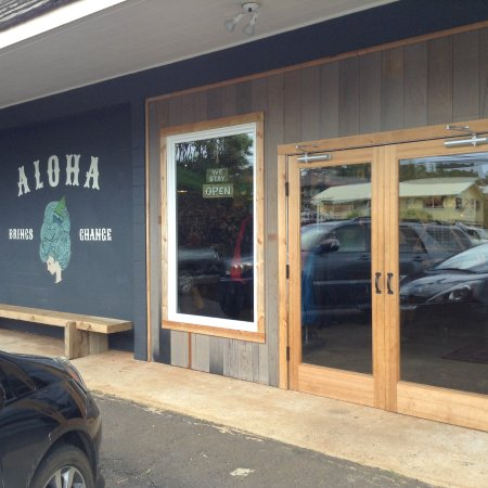 Kalaheo, Hawái: The shop