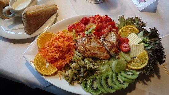 Wellnesshotel Bürgerstuben: Essen im Restaurant