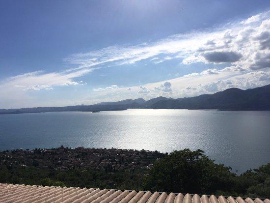 Hotel Panorama Ristorante: Heel mooi Panorama over het Gardameer
