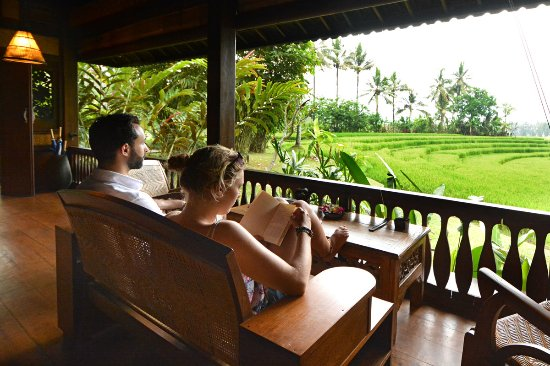 Bali Eco Stay Bungalows: Catch up on your reading
