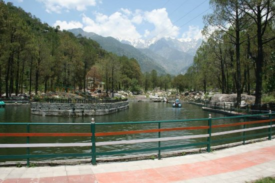 Palampur, อินเดีย: A boating spot at Saurabh Van Vihar