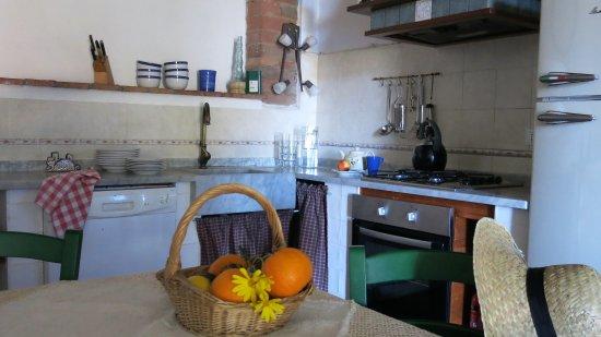I Moricci: appartamento leccino-la cucina
