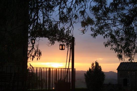 I Moricci: tramonto