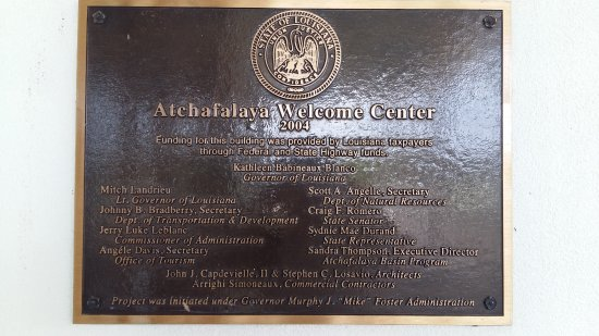 Atchafalaya Welcome Center