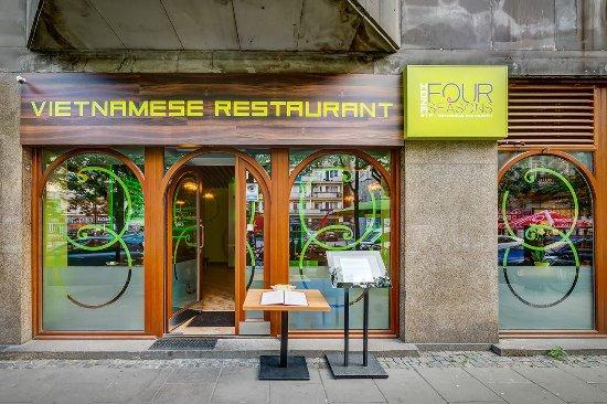 Four Seasons Restaurants Front Door Picture Of Four Seasons